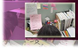 自習室に自分専用の机があることは家で勉強できない私にとってすごく役立ちます。